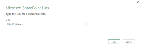 Power Query - Connect to SharePoint site