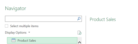 Power Query - Select SharePoint List